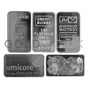 1oz Platinum Bar (Best Value)