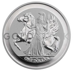 1oz Pegasus Reverse Proof Silver Coin (2017)