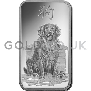 1oz PAMP Year of the Dog (2018)