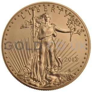 2013 1 oz Gold America Eagle
