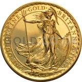 Gold Britannia 1oz Coin (1987)