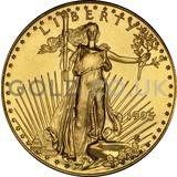 1995 1/2 oz Gold America Eagle