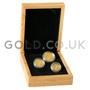 Three Coin Panda Set Gift Boxed (2020)