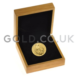 The Black Bull of Clarence - 1oz Gold Coin (2018) Boxed