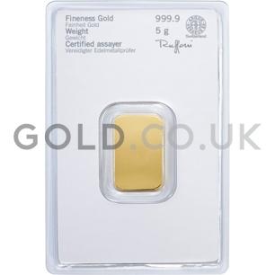5g Heraeus Gold Bar