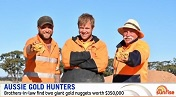 Australian pair strike gold with double nugget find