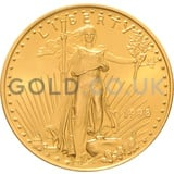 1998 1/2 oz Gold America Eagle