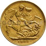 1903 Edward VII Gold Sovereign (Perth Mint)