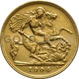 1904 Edward VII Gold Half Sovereign (London Mint)