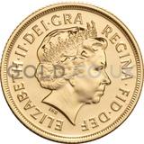 Elizabeth II, Fourth Head - Gold Sovereign