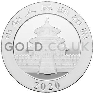 Boxed Silver Panda 30g (2020)