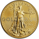 2013 1/4 oz Gold America Eagle