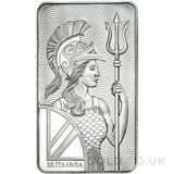 Britannia 10oz Silver Minted Bar