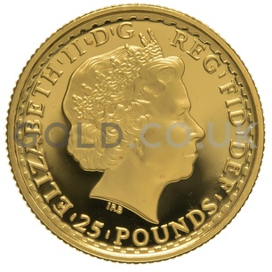 2006 Quarter Ounce Proof Britannia