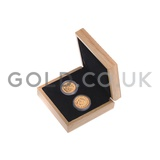 Two Sovereign Gold Coins in Gift Box (2019)
