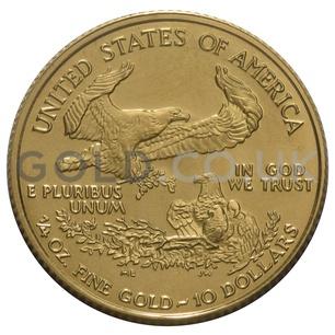 2009 1/4 oz Gold America Eagle