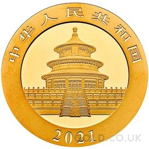 Gold Panda 1 gram (2021)