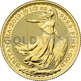 Britannia Half Ounce Gold Coin (2019)