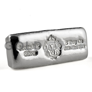 5oz Scottsdale Silver Bar