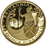 2008 Half Ounce Proof Britannia