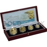 Proof Gold Britannia 4-Coin Box Set (2006)