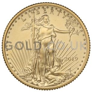 Quarter Ounce American Eagle Gold Coin (2019)