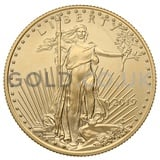 Half Ounce American Eagle Gold Coin (2019)