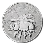 Silver 1oz Year of the Pig (2019)