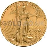 2002 1 oz Gold America Eagle