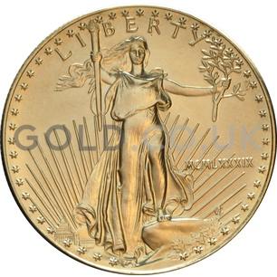1989 1 oz Gold America Eagle