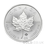 1oz Canadian Maple Silver Coin (2021)