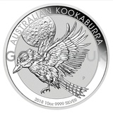 Silver Kookaburra 10oz (2018)