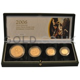 Gold Proof Sovereign Four Coin Boxed Set (2006)