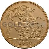 Gold Elizabeth II Sovereign (2008)