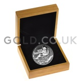 Boxed 1oz Silver Black Panther (2018)