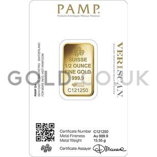 1/2oz Gold Bar