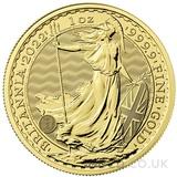 Britannia One Ounce Gold Coin (2022)