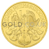 Gold Philharmonic Quarter Ounce Coin (2020)