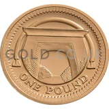 One Pound Gold Coin - Egyptian Arch (2006)