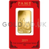 1oz PAMP Year of the Pig (2019)