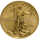 Gold Eagle Quarter Ounce (2017)