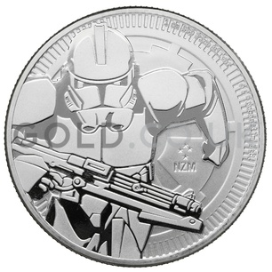 1oz Star Wars™ Clone Trooper Silver Coin Gift Boxed (2019)