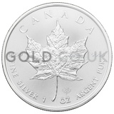 1oz Canadian Maple Silver Coin (2020)