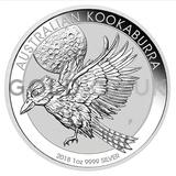 Silver Kookaburra 1oz (2018)