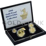 Proof Gold Britannia 4-Coin Box Set (1995)