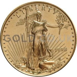 1998 1/4 oz Gold America Eagle