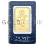 100g PAMP Rosa Gold Bar