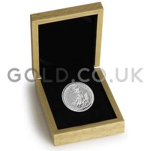 Platinum 1oz Britannia Gift Boxed (2019)
