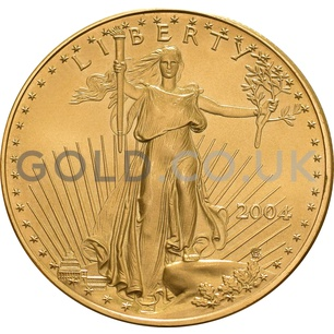 2004 1 oz Gold America Eagle