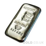 250g Metalor Silver Bar